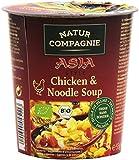Natur Compagnie Chicken & Noodle Soup Soupe asiatique de nouilles aux poulets Bio 55 g