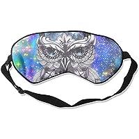 Cute Owl Artistic Illustration Sleep Eyes Masks - Comfortable Sleeping Mask Eye Cover For Travelling Night Noon... preisvergleich bei billige-tabletten.eu