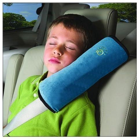 Universel coussin Oreiller de securite Automobile pour les enfants couleur: Bleu