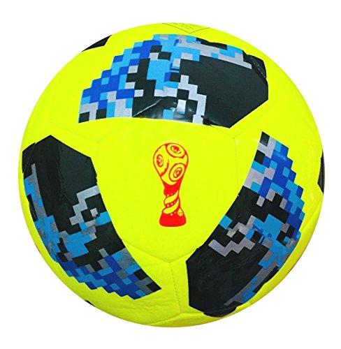 World Cup Fußball 2018Russland Replica Qualität Match Ball Größe 5,4,3-Spedster (der Fußball ist verpackt in einer schönen Geschenk Net Tasche), 5 (Replica Soccer Cup World)
