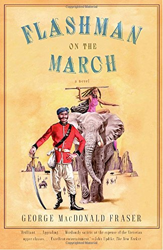Book cover for Flashman on the March