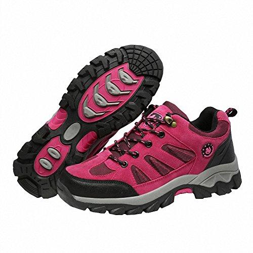 Ben Sports Chaussures de Randonnée Running Trail Sports Femme Homme Rose