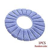 Topker Baño de Asiento de Inodoro Patrón Cubierta Lavable Closestool estándar Calabaza higiénico Suave del Amortiguador de Color al Azar