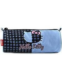 Hello Kitty 11-1944 - Estuche de lápices redondo, color azul claro