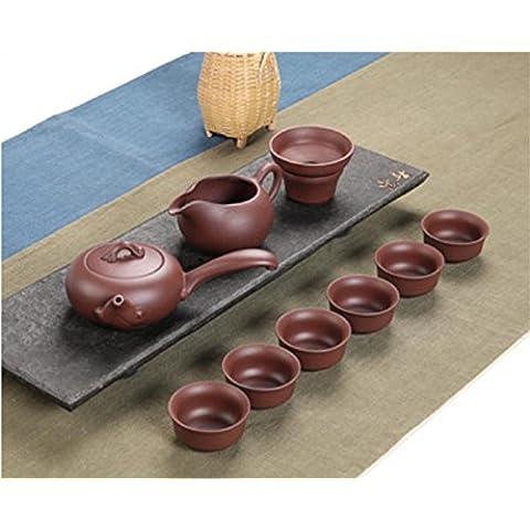 CGHUA Set teiera di ceramica, porcellana tè gongfu set 9