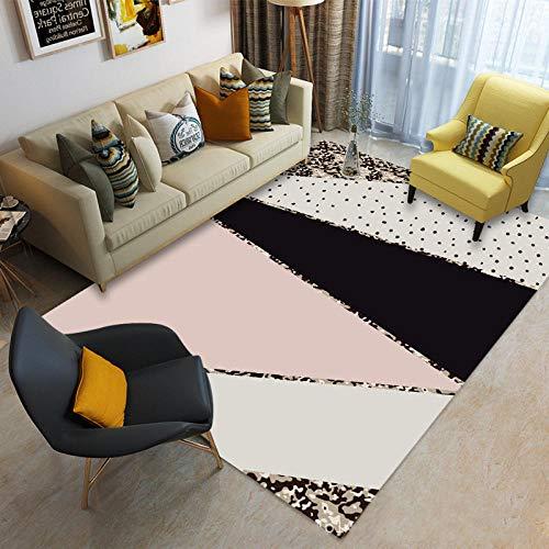 jasmineXDLstore alfombras de habitacionHome Designer Carpet Las Salon Heather Pattern Geometric Shape,...