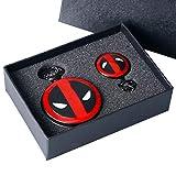 Juego de Tronos de invierno viene reloj de bolsillo Set de regalo para niños hombres Cool 3D lobo Clan Foba reloj con colgante de cúpula de cristal collar