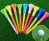 #10: TourEdge Premium Plastic Golf Tees Rubber Cushion Multicolor 5 pcs