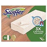 Swiffer Trockene Bodentücher Nachfüllpackung, 6er Pack (6 x 18 Tücher)