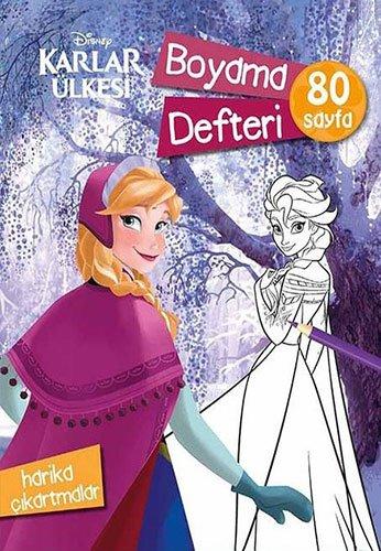 Disney Karlar Ulkesi Boyama Defteri 80 Sayfa Harika Cikartmalar