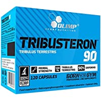 Olimp Sport Nutrition Testosterona, Tribulus Terrestris, 90-120 Cápsulas, 74.4 g