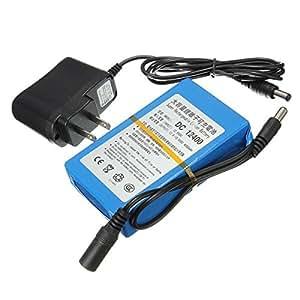 DC12V 4000mAh super batterie rechargeable Lithium Portable avec Plug