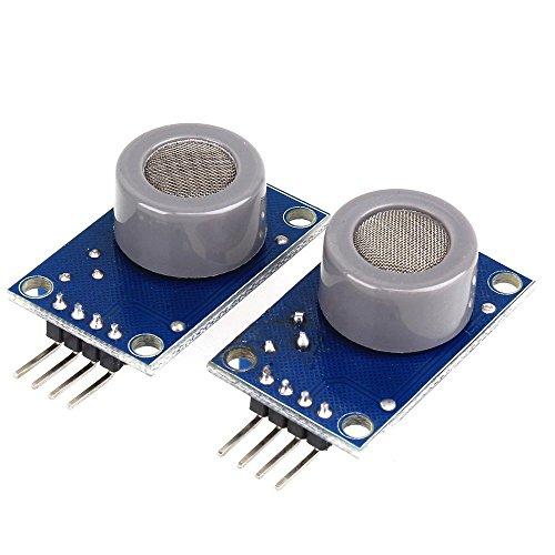 DN MQ-7 CO modulo sensore Gas test monossido di carbonio Detector DC3-5V Costruito in LM393 (confezione da 2)