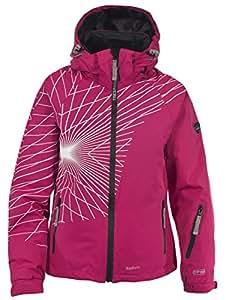 Trespass Sugary Veste de ski pour femme Rose Cassis Small
