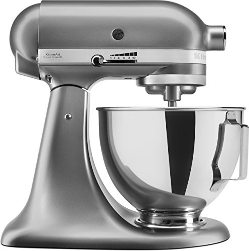 KitchenAid KSM95PSECU KitchenAid Robot Patissier - Contour Argent