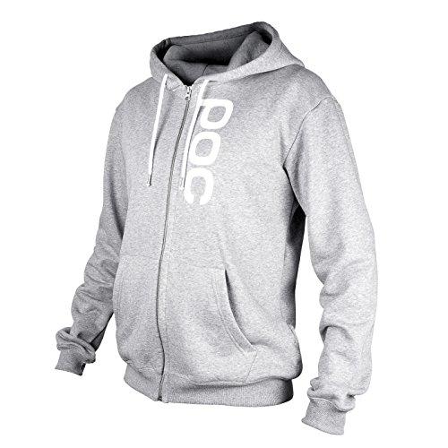 POC Herren  Pullover Hood Zip, S, Palladium Grey