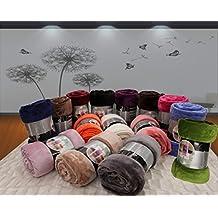 ForenTex - Manta de sedalina, (LI-130 BLANCA), Ultra suave, microseda, para abrigarte con estilo y confort, 130 X 160 CM. Por cada 2 colchas o mantas paga solo un envío (o colcha y manta), descuento equivalente antes de finalizar la compra.