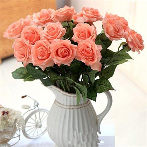 seasofbeauty-10-pezzi-in-lattice-touch-fiori-artificiali-rose-wedding-home-decor-champagne-misura-un
