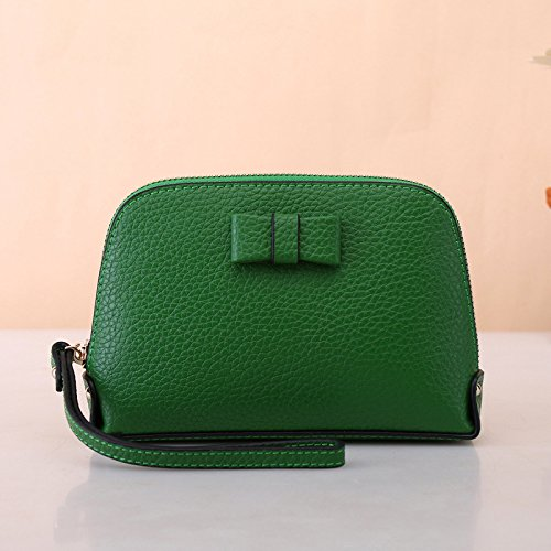 Mode - Handtasche, Neue Europäische Und Amerikanische Mode - Leder, Leder - Bogen, Shell - Tasche, Lady Veränderung Tasche grüne