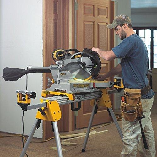 DeWalt Paneelsäge (1675 W, Schnittkapazität bis zu 110 x 303 mm, millimetergenaue Schnitte durch LED-unterstützte Schnittlinienanzeige) DWS780 - 10