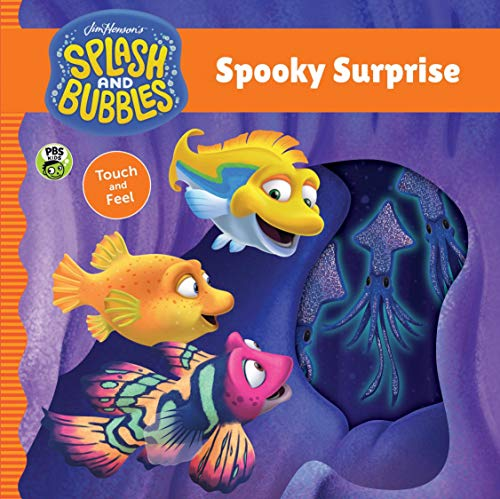 Spooky Surprise touch and feel board book ()