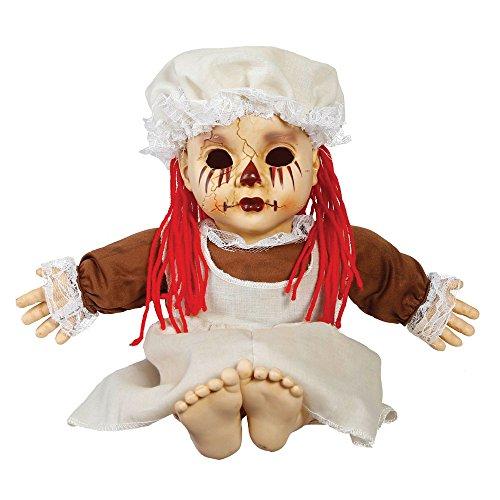 Bambola posseduta parlante balia infermiera