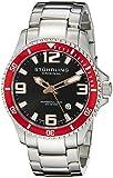 Stuhrling Original Aquadiver Analog Black Dial Men's Watch - 395.33TT11 best price on Amazon @ Rs. 4132