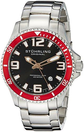 51zQSA%2BA4fL - Stuhrling Original Aquadiver Mens 395.33TT11 watch