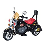 Car Motorbike Best Deals - HOMCOM Children Ride On Toy Car Kids Motorbike Motorcycle Electric Scooter Motor Bicycle 6V Battery Operated Toy Trike (Black)