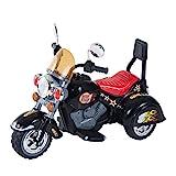 HOMCOM Moto Electrica Infantil Bateria Recargable Niño 3 Años Cargador 3...