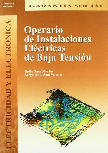 Operario de instalaciones eléctricas de baja tensión por Belén Sanz Martín, Sergio de la Sota Velasco