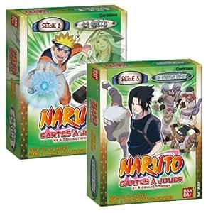 Bandai - Cartes à jouer - Naruto - Starter Série 5 Display
