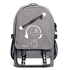 Fluoreszierende-Schulruckscke-Jungen-Mdchen-Kinderrucksack-Schulrucksack-Laptop-Jungs-Rucksack-mit-USB-Kabel-und-Zahlenschoss