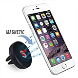 #3: Carsaaz Universal Air Vent Magnetic Car Mount Holder For Cell Phones and Mini Tablets