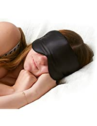 Vicloon Antifaces para Dormir de Seda Pure,Anti-luz Máscara de Dormir Sueño, Para Viajar ,Trabajo, Dormir Y Meditación