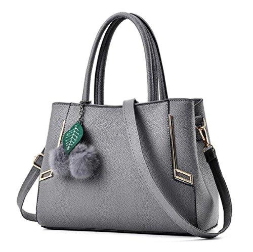 Borse A Tracolla Alla Moda Donna MYLL Borsa A Tracolla Messenger Bag,LightGray DarkGray