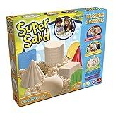 Goliath 83216 | Super-Sand-Set Classic | magischer Super Sand für Sandburgen in Deinem  Kinderzimmer | kreative Sandbauwerke | bunter Spielspaß mit geometrischen Förmchen | ab 4 Jahren