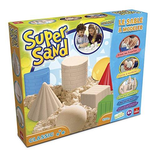 r-Sand-Set Classic | magischer Super Sand für Sandburgen in Deinem  Kinderzimmer | kreative Sandbauwerke | bunter Spielspaß mit geometrischen Förmchen | ab 4 Jahren (Geschenke Für 2-jährige Mädchen)