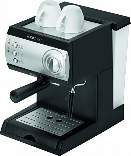 Clatronic-ES3584-CafetireExpressoCappuccino-AcierNoir