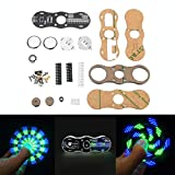 Generic 5pcs DIY LED Hand Spinner Electronic Kit C51 Single Chip Training Kit