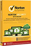 Symantec Norton Security w/Backup 2.0 - antivirus security software (Windows 7 Enterprise, Windows 7 Enterprise x64, Windows 7 Home Basic, Windows 7 Home Basic x64, Wind, Full license, Android 2.3, Android 3.0, Android 3.1, Android 3.2, Android 4.0, Andro