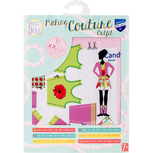 Dress your doll - Puppenkleider selber machen - Outfit Level 2 - Candy Flower (Candy Doll)
