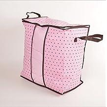GYMNLJY Della famiglia rosa Non tessuto Abbigliamento e trapunte sacchetto antipolvere Quilt Borse anti-batterica spazio Saver(pack of 2)