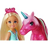 NEW Barbie Dreamptopia Chelsea Doll and Unicorn Toy