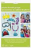 Unique Party - 61938 - Paquet de 10 Accessoires - Sous l'Océan pour Photomaton