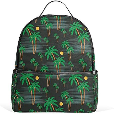 COOSUN Palm Motif école Sac à Dos léger léger léger en Toile Cartable pour Les garçons Filles Enfants Multicolore B078MM2N5Y   Beau Design  5d766d