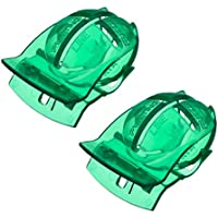 VORCOOL 2 Stücke Golfball-Marker Liner Golfballmarkierer (Grün)