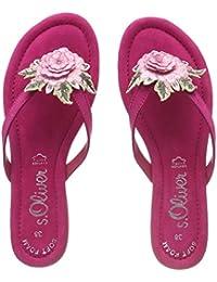 Rosa 40 EU sOliver 27125 Infradito Donna Pale Rose Scarpe lel