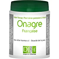Französische Nachtkerzenöl - Oenothera biennis - 300 Kapseln mit 500mg 100% rein und kaltgepresst Nachtkerzenöl - hohen Anteil an essentiellen Fettsäuren - Angebaut und gepresst in Frankreich
