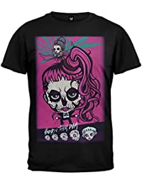 Lady Gaga - Gaga Skeleton Cartoon 2013 Tour Soft T-Shirt